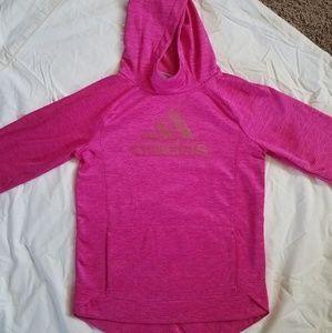 Adidas Girl's  Pink Hoodie, XL(16)